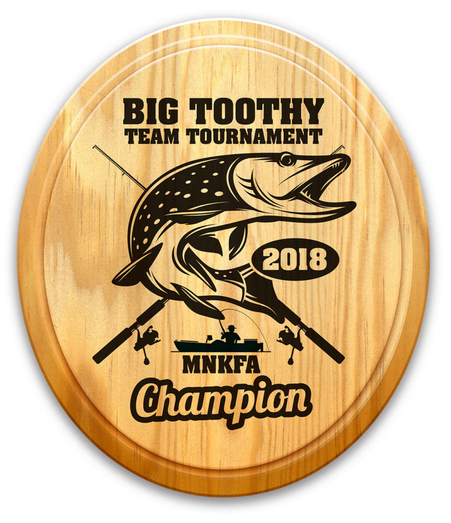 big Toothy Team Tournament Award