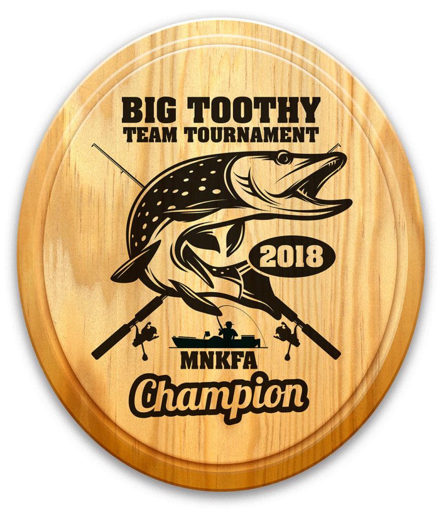 big Toothy Team Tournament Award