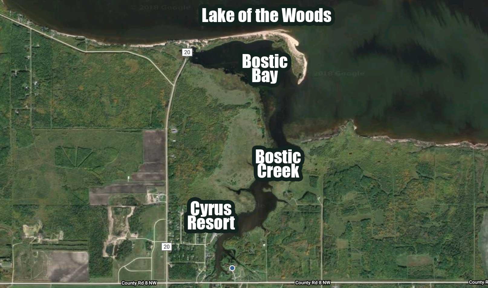 Big Pike Kayak Fishing Bostic Bay, Lake of the Woods