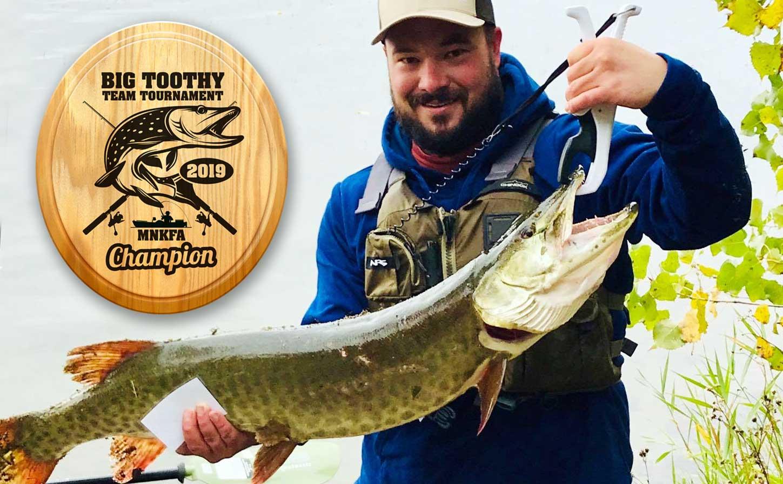 2019 Big Toothy Team Tournament Kayak Fishing