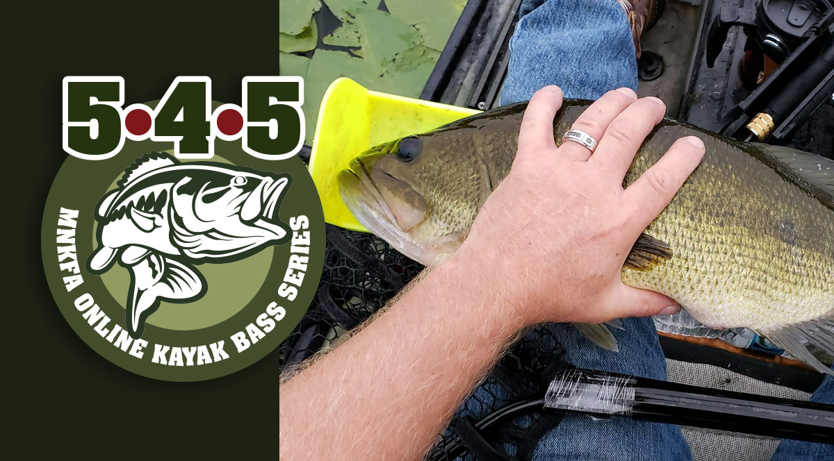 2019 August 5•4•5 Online Kayak Bass Fishing Tournament @ Online