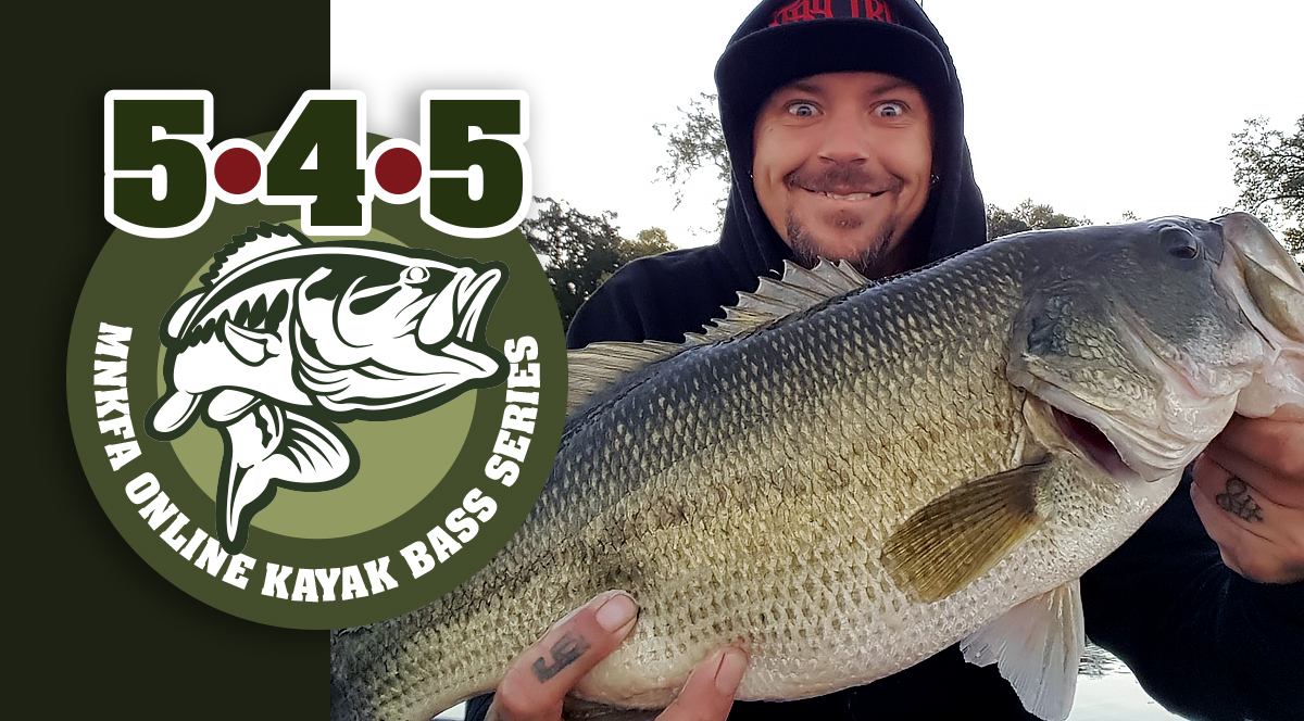 2019 June 5•4•5 Online Month Long Kayak Bass Fishing Tournament @ Online