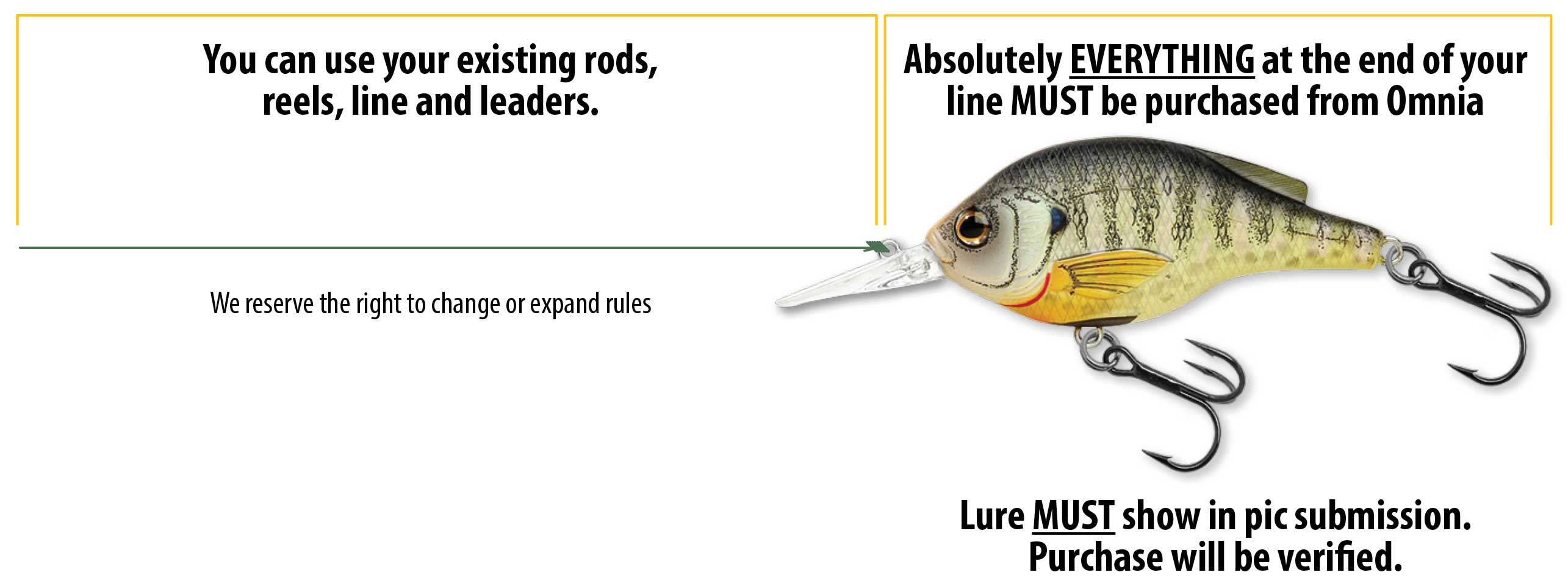 Omnia Fishing Rules